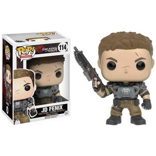 FUNKO POP! GAMES: GEARS OF WAR JD FENIX VINYL FIGURE