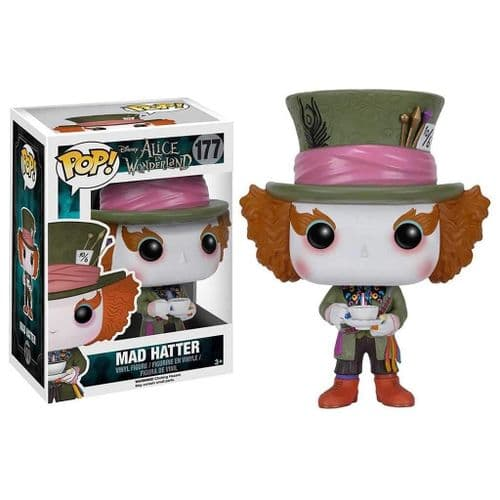 FUNKO POP! MOVIES: ALICE IN WONDERLAND MAD HADDER (LIVE ACTION) VINYL FIGURE