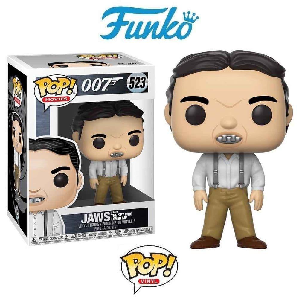 FUNKO POP! MOVIES: JAMES BOND JAWS VINYL FIGURE