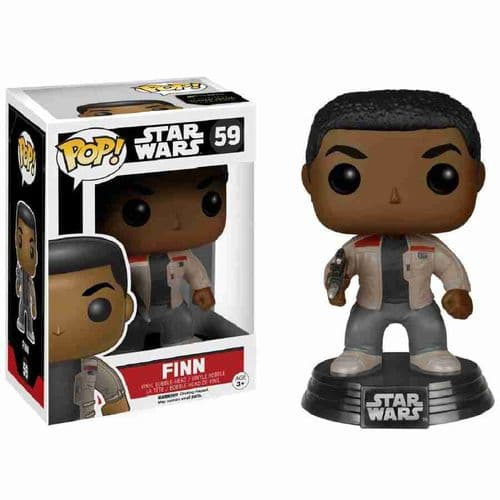 FUNKO POP! STAR WARS: EPISODE VII FINN BOBBLE-HEAD VINYL FIGURE