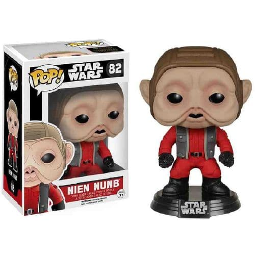 FUNKO POP! STAR WARS: EPISODE VII NIEN NUNB BOBBLE-HEAD VINYL FIGURE