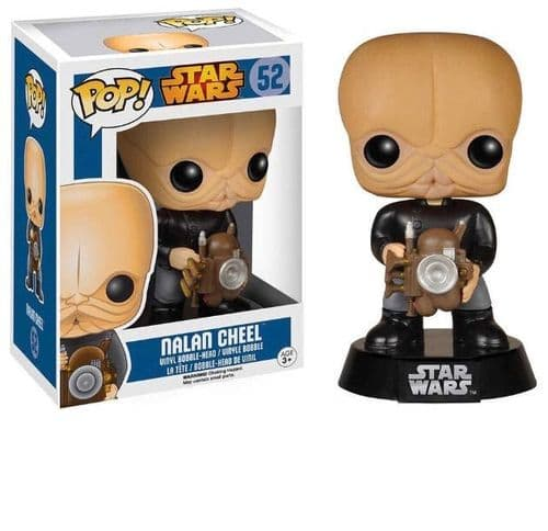 FUNKO POP! STAR WARS: NALAN CHEEL BOBBLE HEAD VINYL FIGURE