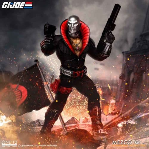 G.I JOE DESTRO ONE:12 COLLECTIVE ACTION FIGURE FROM MEZCO TOYZ