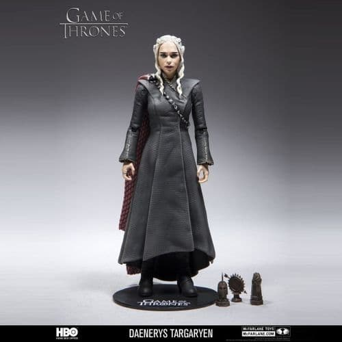 "GAME OF THRONES 6"" SCALE DAENERYS TARGARYEN ACTION FIGURE FROM MCFARLANE TOYS"
