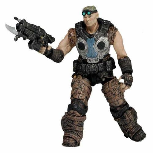 "GEARS OF WAR 3.75"" SERIES 1 DAMON BAIRD ACTION FIGURE FROM NECA"