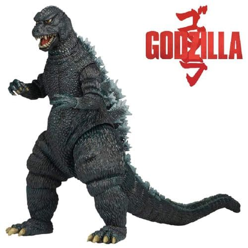 "GODZILLA 12"" HEAD TO TAIL 1985 GODZILLA ACTION FIGURE FROM NECA"