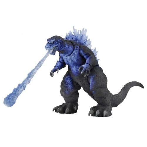 "GODZILLA 12"" HEAD TO TAIL 2001 ATOMIC BLAST GODZILLA ACTION FIGURE FROM NECA"