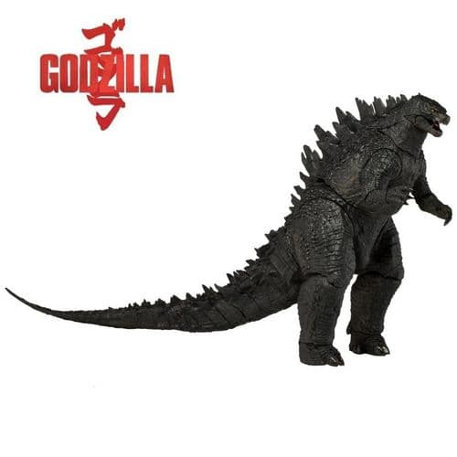 "GODZILLA 12"" HEAD TO TAIL 2014 MODERN SERIES 1 GODZILLA ACTION FIGURE FROM NECA"