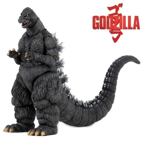 "GODZILLA 1989 CLASSIC GODZILLA 12"" HEAD TO TAIL ACTION FIGURE FROM NECA"