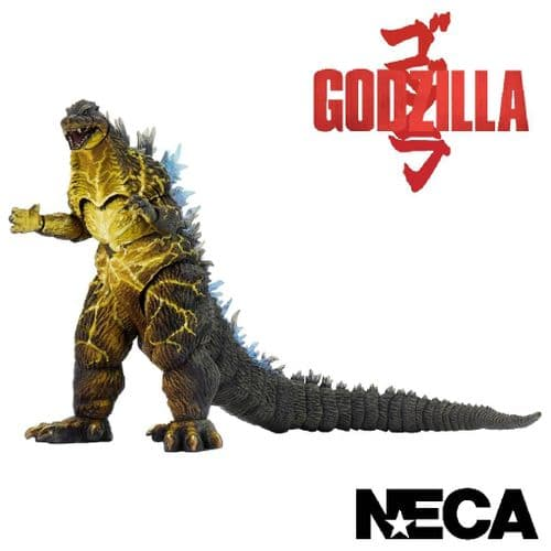 GODZILLA 2003 HYPER MASER BLAST GODZILLA 12 INCH HEAD TO TAIL ACTION FIGURE FROM NECA