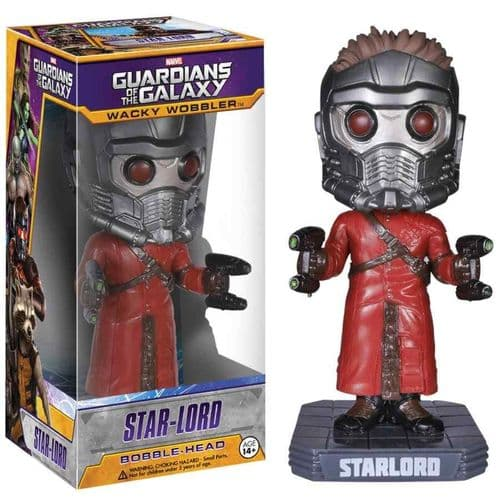 GUARDIANS OF THE GALAXY STAR-LORD WACKY WOBBLER FROM FUNKO