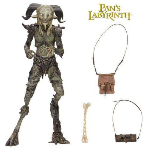 "GUILLERMO DEL TORO SIGNATURE COLLECTION 7"" SCALE PAN'S LABYRINTH OLD FAUN ACTION FIGURE FROM NECA"