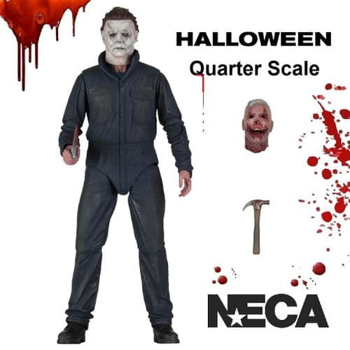 HALLOWEEN (2018) 1:4 SCALE  MICHAEL MYERS ACTION FIGURE FROM NECA