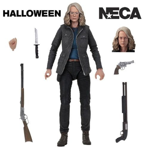 "HALLOWEEN (2018) LAURIE STRODE 7"" SCALE  ULTIMATE ACTION FIGURE FROM NECA"