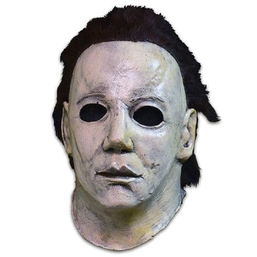 HALLOWEEN 6: THE CURSE OF MICHAEL MYERS LATEX HEAD AND NECK MASK FROM TRICK OR TREAT STUDIOS