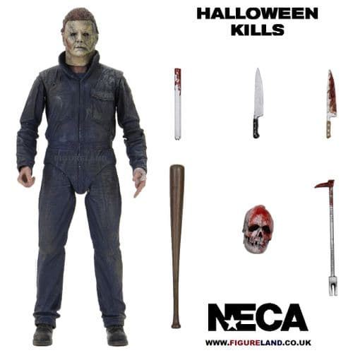 HALLOWEEN KILLS (2021) MICHAEL MYERS ULTIMATE 7 INCH SCALE ACTION FIGURE FROM NECA