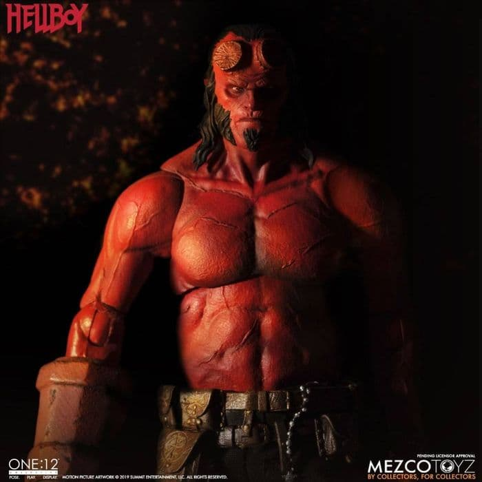 HELLBOY 2019 ONE:12 COLLECTIVE  ACTION FIGURE FROM MEZCO TOYZ