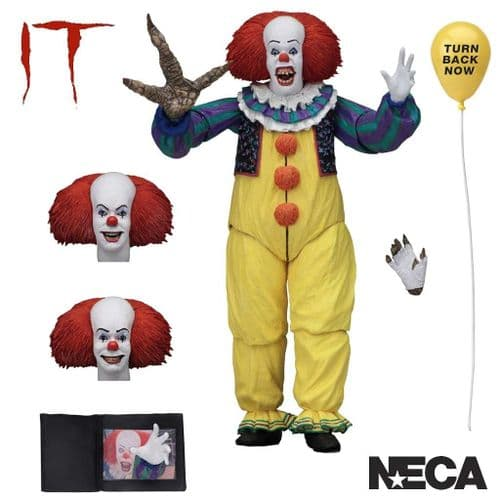 IT (1990) ULTIMATE PENNYWISE V.2 ACTION FIGURE FROM NECA