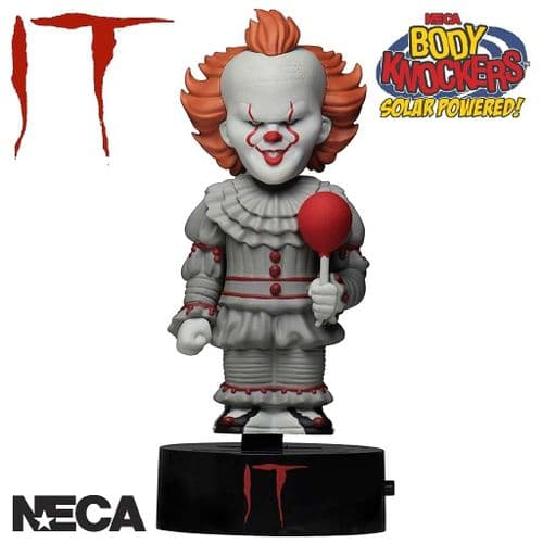 IT 2017 PENNYWISE SOLAR POWERED BODY KNOCKER FROM NECA