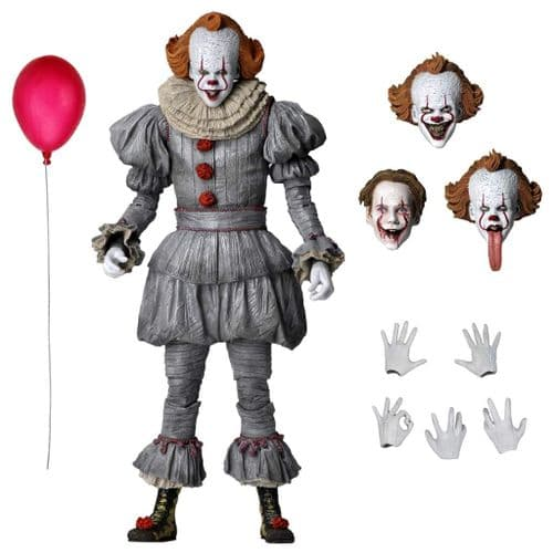 """IT CHAPTER 2 (2019) 7"""" ULTIMATE PENNYWISE ACTION FIGURE FROM NECA"""