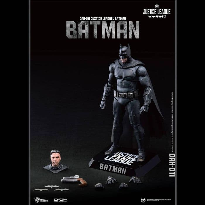 JUSTICE LEAGUE DYNAMIC 8CTION HEROES 1:9 BATMAN ACTION FIGURE FROM BEAST KINGDOM