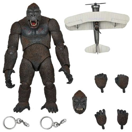 """KING KONG CONCRETE JUNGLE ULTIMATE 8"""" ACTION FIGURE FROM NECA"""