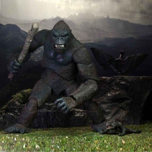 """KING KONG ULTIMATE ISLAND KONG 8"""" ACTION FIGURE FROM NECA"""