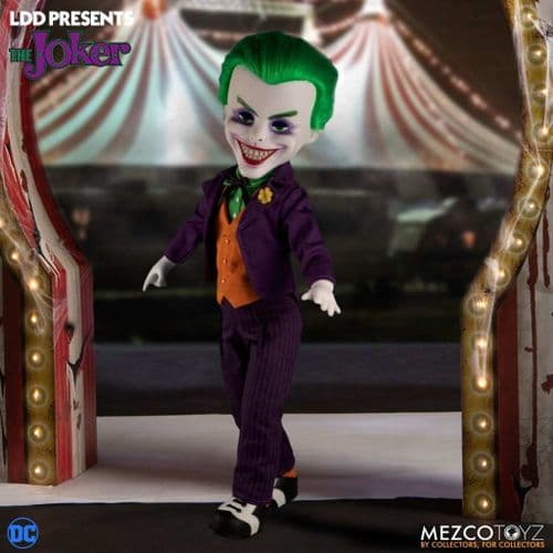 LDD PRESENTS DC UNIVERSE THE JOKER FROM MEZCO TOYZ