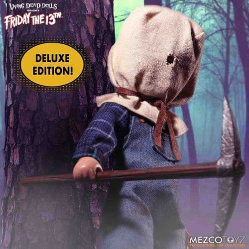 LDD PRESENTS FRIDAY THE 13TH PART 2 DELUXE EDITION JASON VOORHEES FROM MEZCO TOYZ
