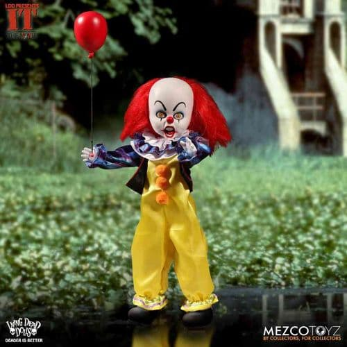 LDD PRESENTS IT 1990: PENNYWISE FROM MEZCO TOYZ
