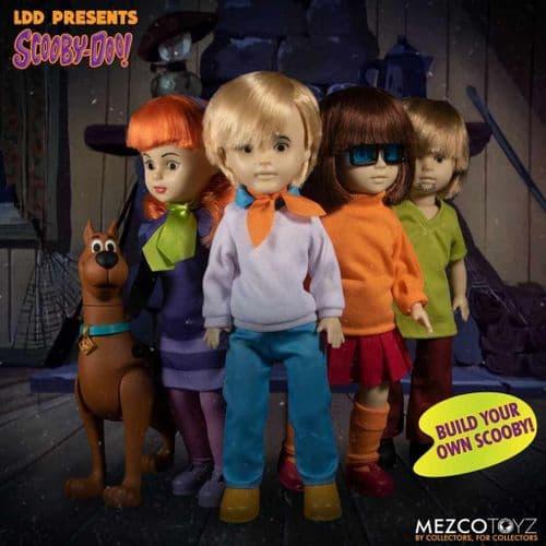 LDD PRESENTS SCOOBY DOO AND MYSTERY INC FULL SET FROM MEZCO TOYZ