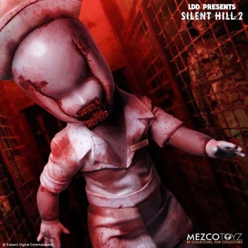 LDD PRESENTS SILENT HILL 2 BUBBLE HEAD NURSE FROM MEZCO TOYZ
