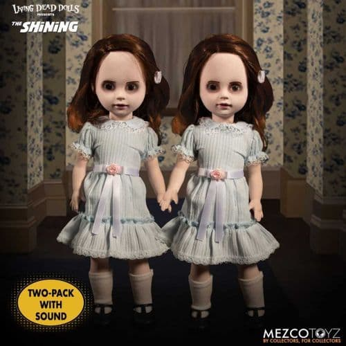LDD PRESENTS THE SHINING TALKING GRADY TWINS FROM MEZCO TOYZ