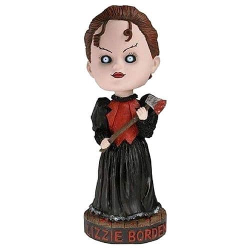 LIVING DEAD DOLLS LIZZIE BORDEN HEAD KNOCKER FROM NECA