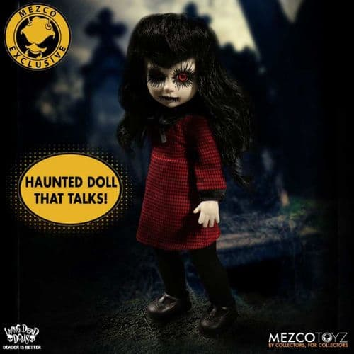 LIVING DEAD DOLLS RESURRECTION LIMITED EDITION TALKING CHLOE FROM MEZCO TOYZ