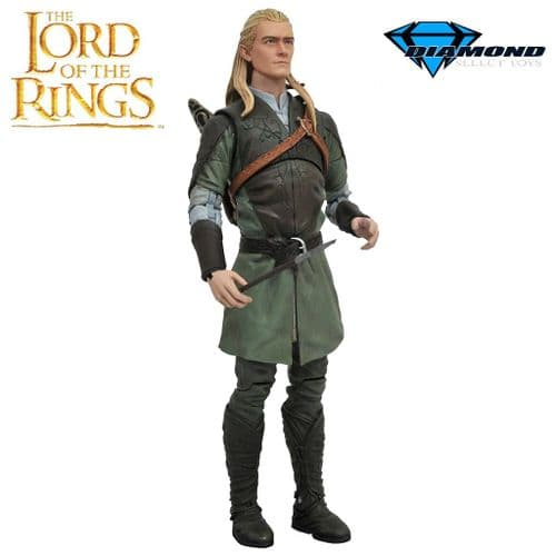 "LORD OF THE RINGS SELECT SERIES 1 LEGOLAS 7"" SCALE ACTION FIGURE FROM DIAMOND SELECT TOYS"