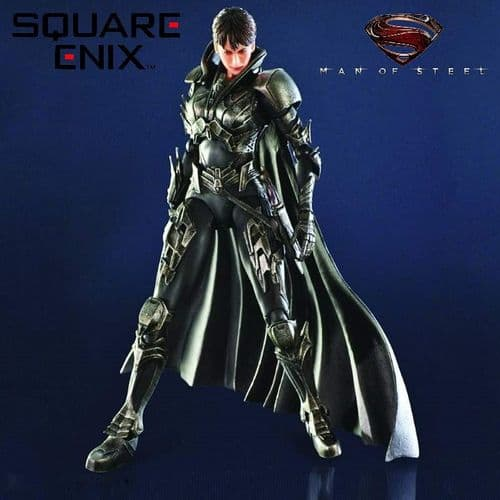 MAN OF STEEL PLAY ARTS KAI FAORA-UL ACTION FIGURE FROM SQUARE ENIX