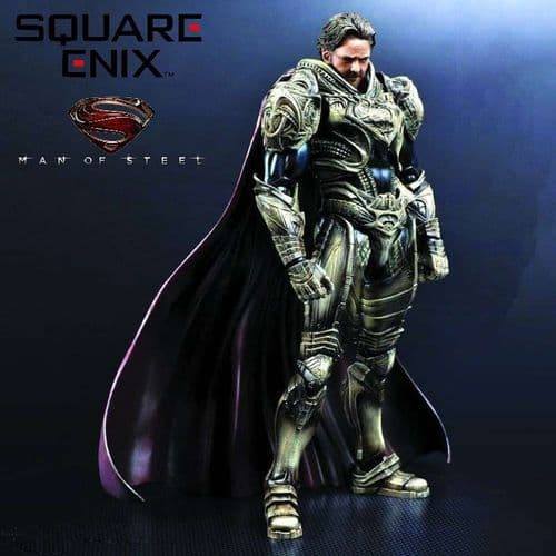 MAN OF STEEL PLAY ARTS KAI JOR-EL ACTION FIGURE FROM SQUARE ENIX