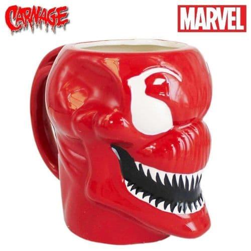 MARVEL CARNAGE 3D MOLDED MUG