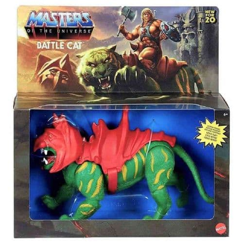 MASTERS OF THE UNIVERSE ORIGINS 2020 BATTLE CAT ACTION FIGURE FROM MATTEL