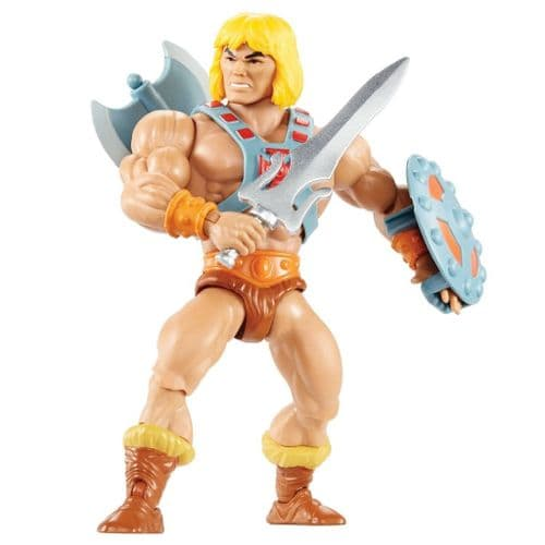MASTERS OF THE UNIVERSE ORIGINS 2020 HE-MAN ACTION FIGURE FROM MATTEL