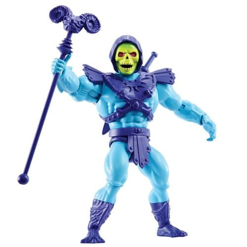MASTERS OF THE UNIVERSE ORIGINS 2020 SKELETOR ACTION FIGURE FROM MATTEL