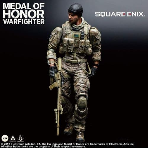 MEDAL OF HONOR WARFIGHTER PLAY ARTS KAI TOM PREACHER ACTION FIGURE FROM SQUARE ENIX