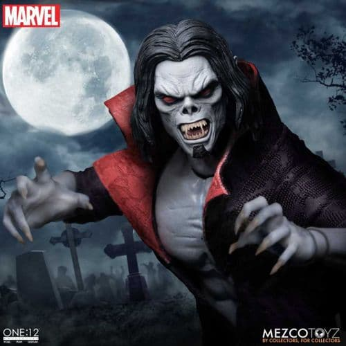 MORBIUS THE LIVING VAMPIRE ONE:12 COLLECTIVE ACTION FIGURE FROM MEZCO TOYZ