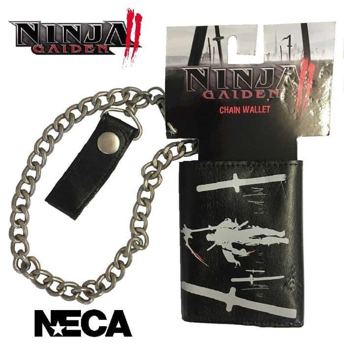 NINJA GAIDEN II CHAIN WALLET (QUITE RARE) FROM NECA