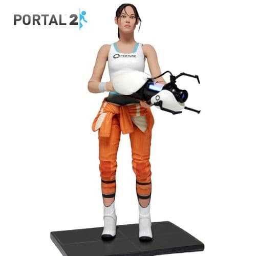 "PORTAL 2 CHELL 7"" SCALE ACTION FIGURE FROM NECA"