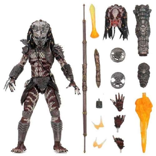 "PREDATOR 2 ULTIMATE GUARDIAN PREDATOR 7"" SCALE ACTION FIGURE FROM NECA"