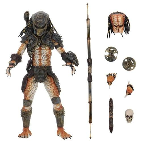 "PREDATOR 2 ULTIMATE STALKER PREDATOR 7"" SCALE ACTION FIGURE FROM NECA"