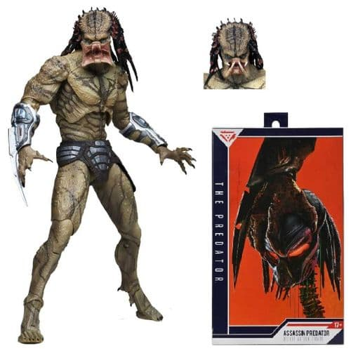 "PREDATOR (2018) DELUXE UNARMOURED ASSASSIN PREDATOR 12"" ACTION FIGURE FROM NECA"