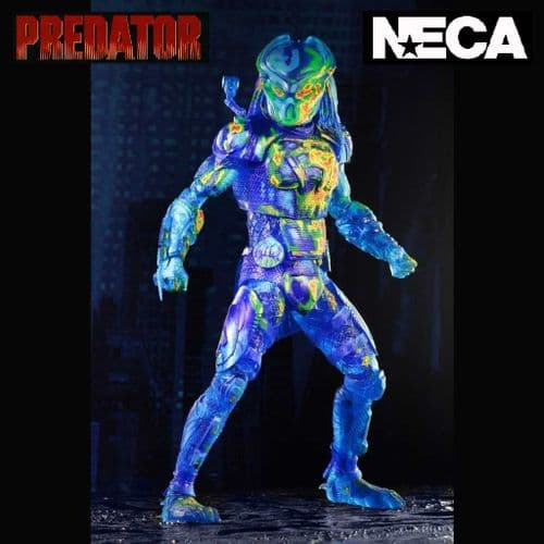 "PREDATOR (2018) THERMAL VISION FUGITIVE PREDATOR 8"" ACTION FIGURE FROM NECA"